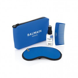 Balmain Limited Edition Cosmetic Bag SS21 Blue Seatud