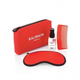 Balmain Limited Edition Cosmetic Bag SS21 Red Seatud