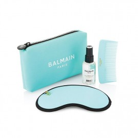 Balmain Limited Edition Cosmetic Bag SS21 Turquoise Seatud