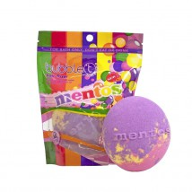 Bubble T Vannipomm Mentos Rainbow