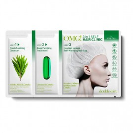 Double Dare Juuksemask Omg! 3 in 1 Self Hair Clinic Peanaha Hoolduseks