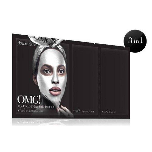 Double Dare Omg! Platinum Silver Facial Mask Kit
