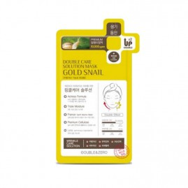 Double & Zero Double Care Solution Gold Snail Näomask 1tk.