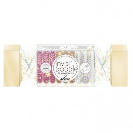 Invisibobble Hair Ring Slim Trio Cracker (9 tk.)