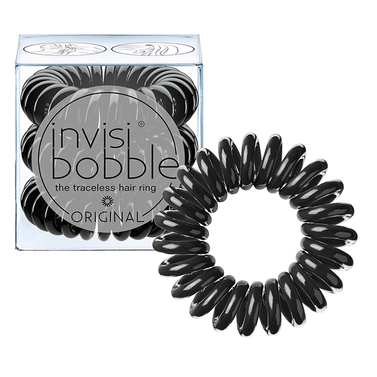 Invisibobble Hair Ring Original True Black (3 tk.)