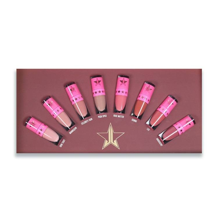 8e455e07604 Jeffree Star Cosmetics Matt Huulepulk Nude Mini Bundle Vol. 1 | Make ...