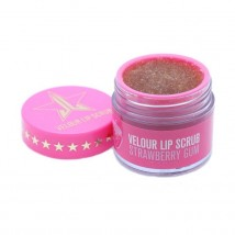 Jeffree Star Cosmetics huulekoorija Velour Lip Scrub Strawberry Gum