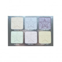 Jeffree Star Cosmetics Platinum Ice Skin Frost™ palett (6 värvi)
