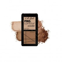 L.A. Girl PRO kontuurimispalett Highlighter/Bronzer
