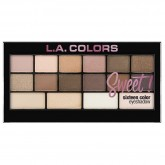 L.A. Colors Lauvärvide Palett Sweet! 16 Charming