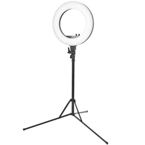 Lamp Ring Light 45' 48W LED + Statiiv