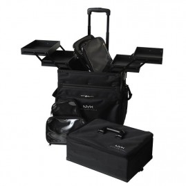 NYX Professional Makeup Artist Train Case 3 Tier Stackable Meigikohver
