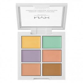 NYX Professional Makeup Conceal, Correct, Contour Palett Color Correcting