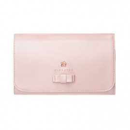 PINK STAR Makeup brush case pink (rose gold)