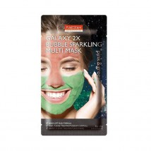 Purederm Galaxy 2X Bubble Sparkling Näomask Pink And Green