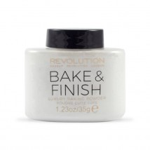 Revolution Beauty Tolmpuuder Bake and Finish White