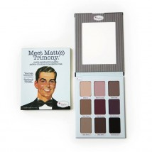 the Balm Cosmetics Lauvärvipalett Meet Matt(e) Trimony.® (9 värvi)