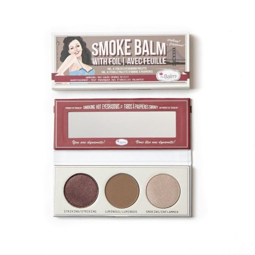 the Balm Cosmetics Lauvärvipalett Smokebalm® Vol. 4 (3 värvi)